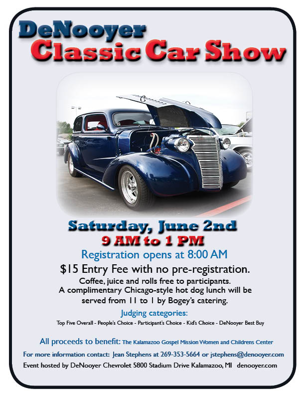DeNooyer Chevrolet Classic Car Show