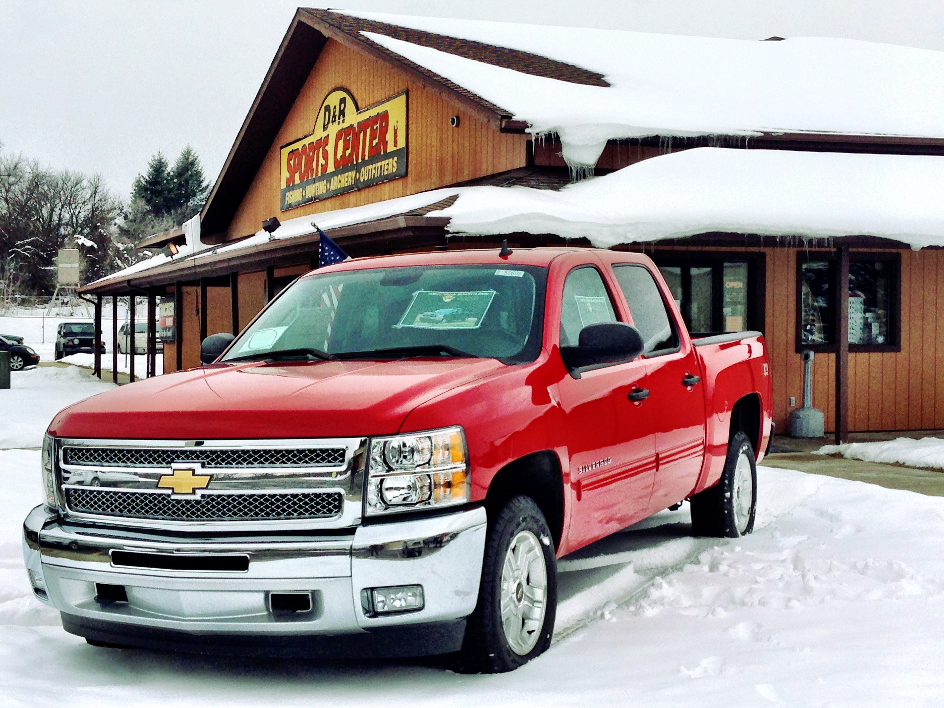 denooyer chevy silverado displayed at d r sports center on west main. Cars Review. Best American Auto & Cars Review